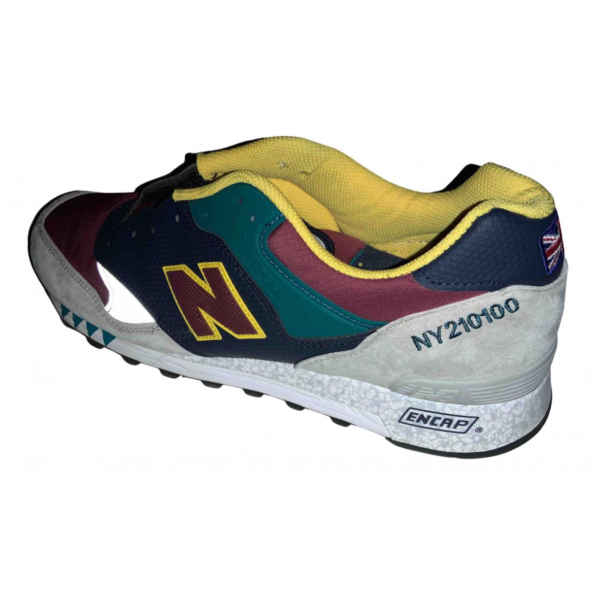 New Balance - Baskets   pour homme en suede - multicolore