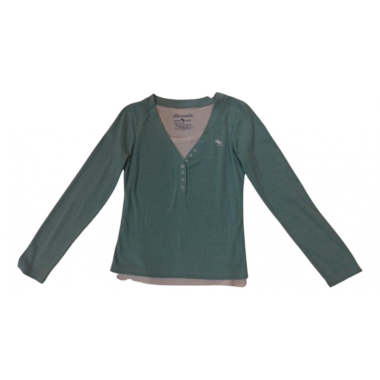 Abercrombie & Fitch \N Pullover in  Gruen Baumwolle