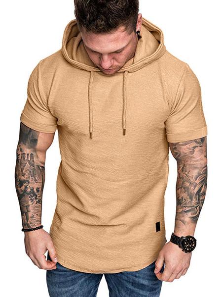 Milanoo Camisetas con capucha de manga corta con capucha