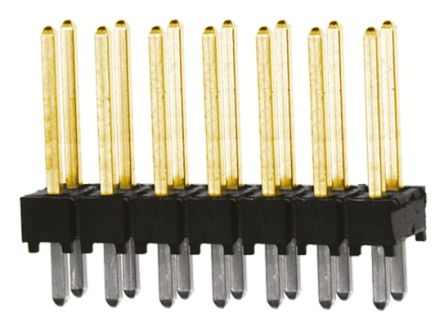 Samtec , TSW, 14 Way, 2 Row, Straight Pin Header