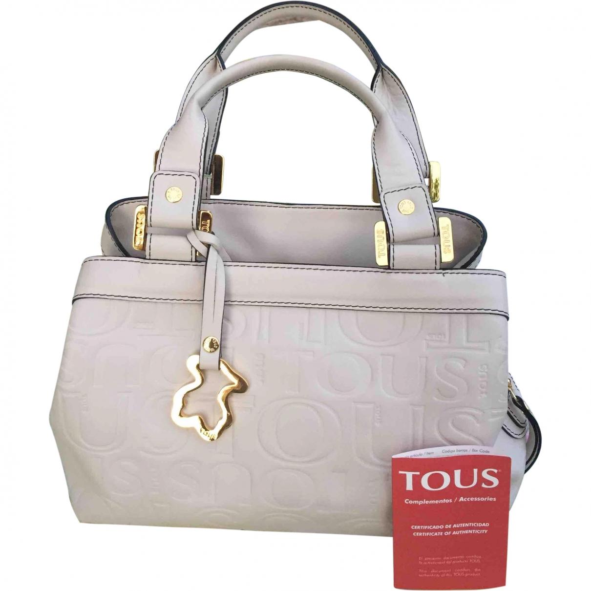 Atelier Tous \N Handtasche in  Beige Fell