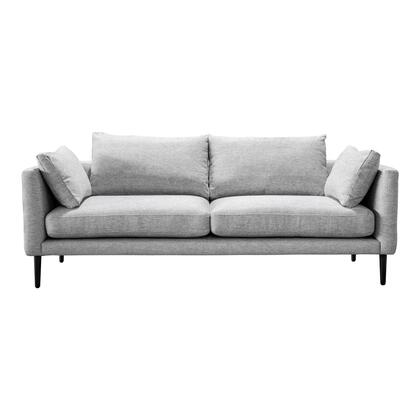 Raval Collection WB-1004-29 Sofa with Solid Wood Frame in Gray