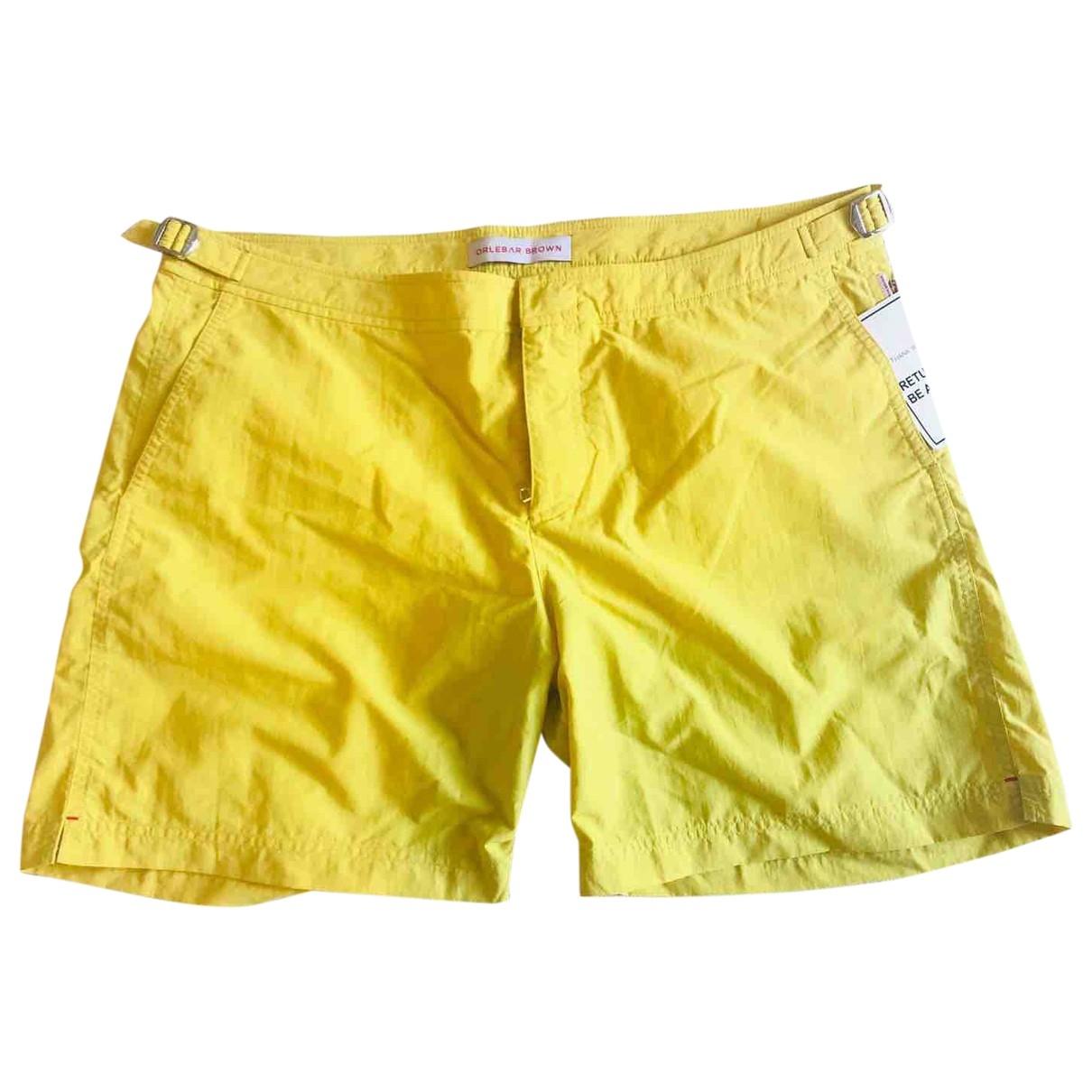 Orlebar Brown \N Yellow Swimwear for Men 36 UK - US