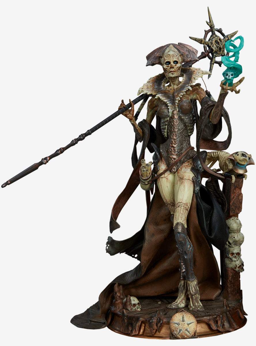 Xiall Osteomancers Vision Figure by Sideshow Collectibles