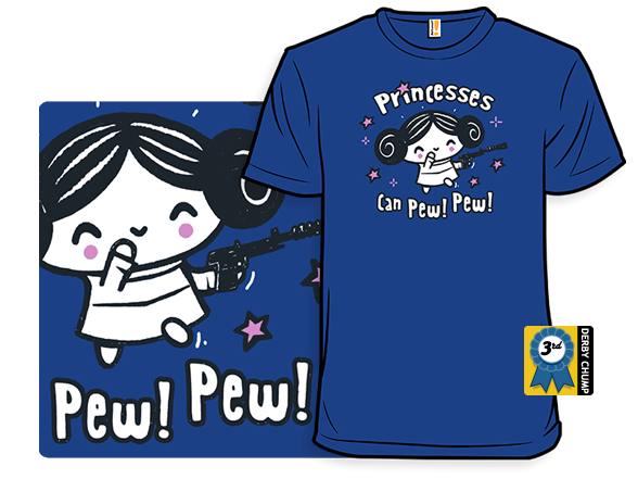 Princesses Can Pew! Pew! Too T Shirt
