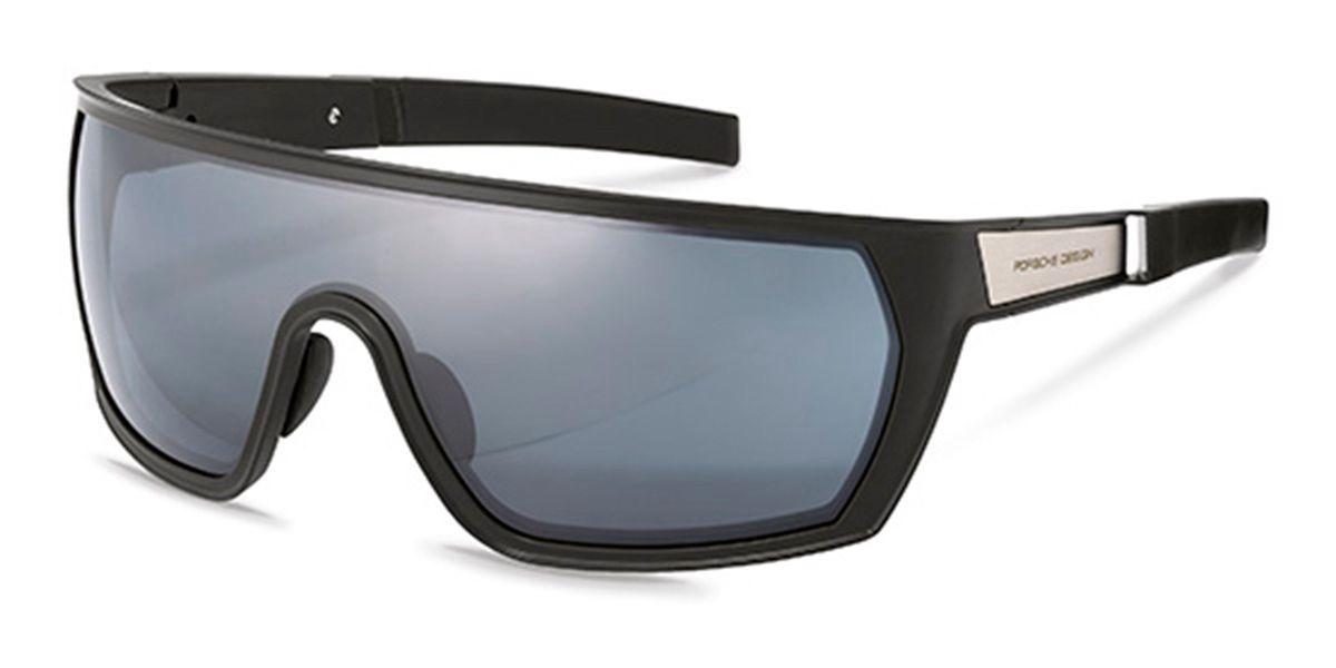 Porsche Design P8668 A Men's Sunglasses Black Size 99