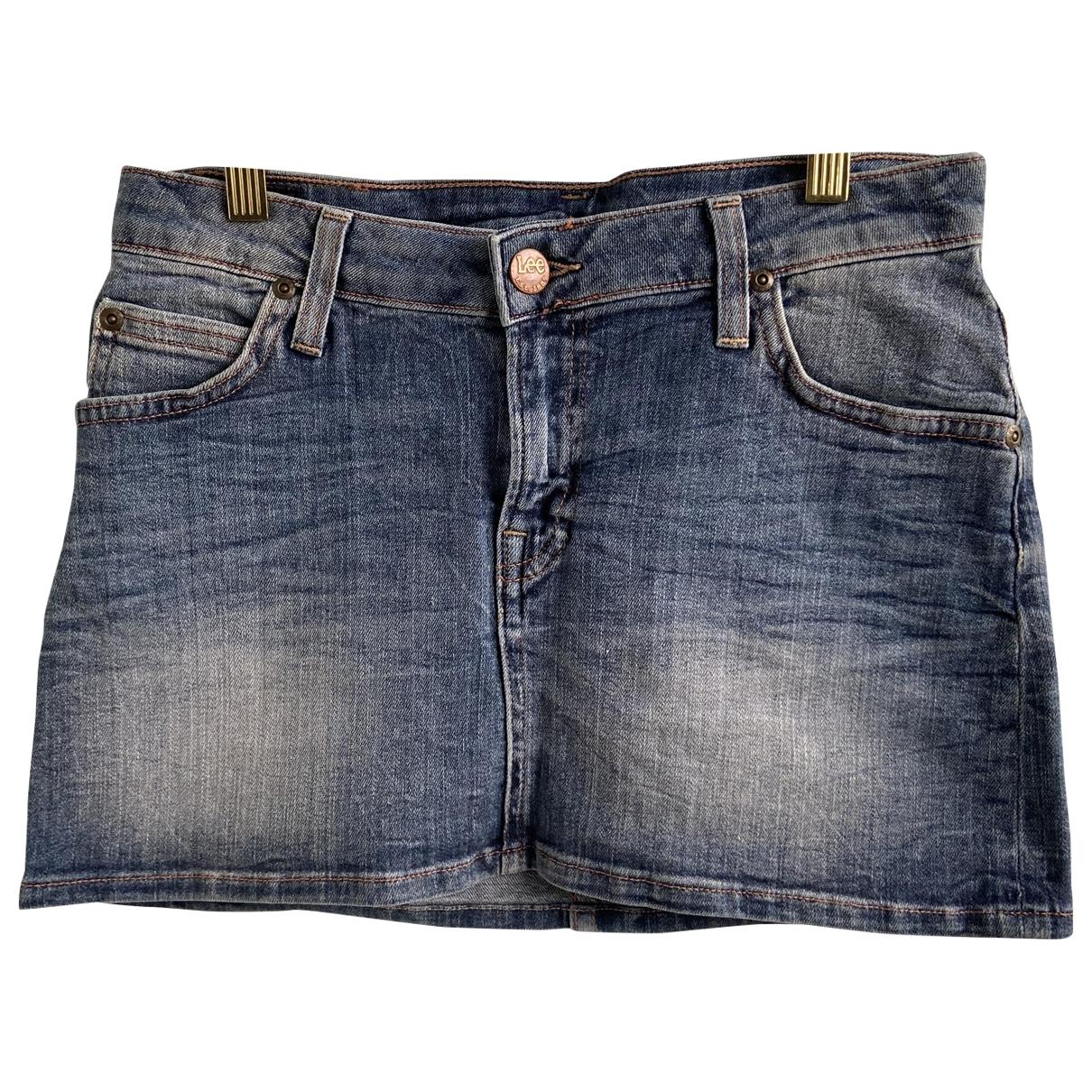 Mini falda Lee