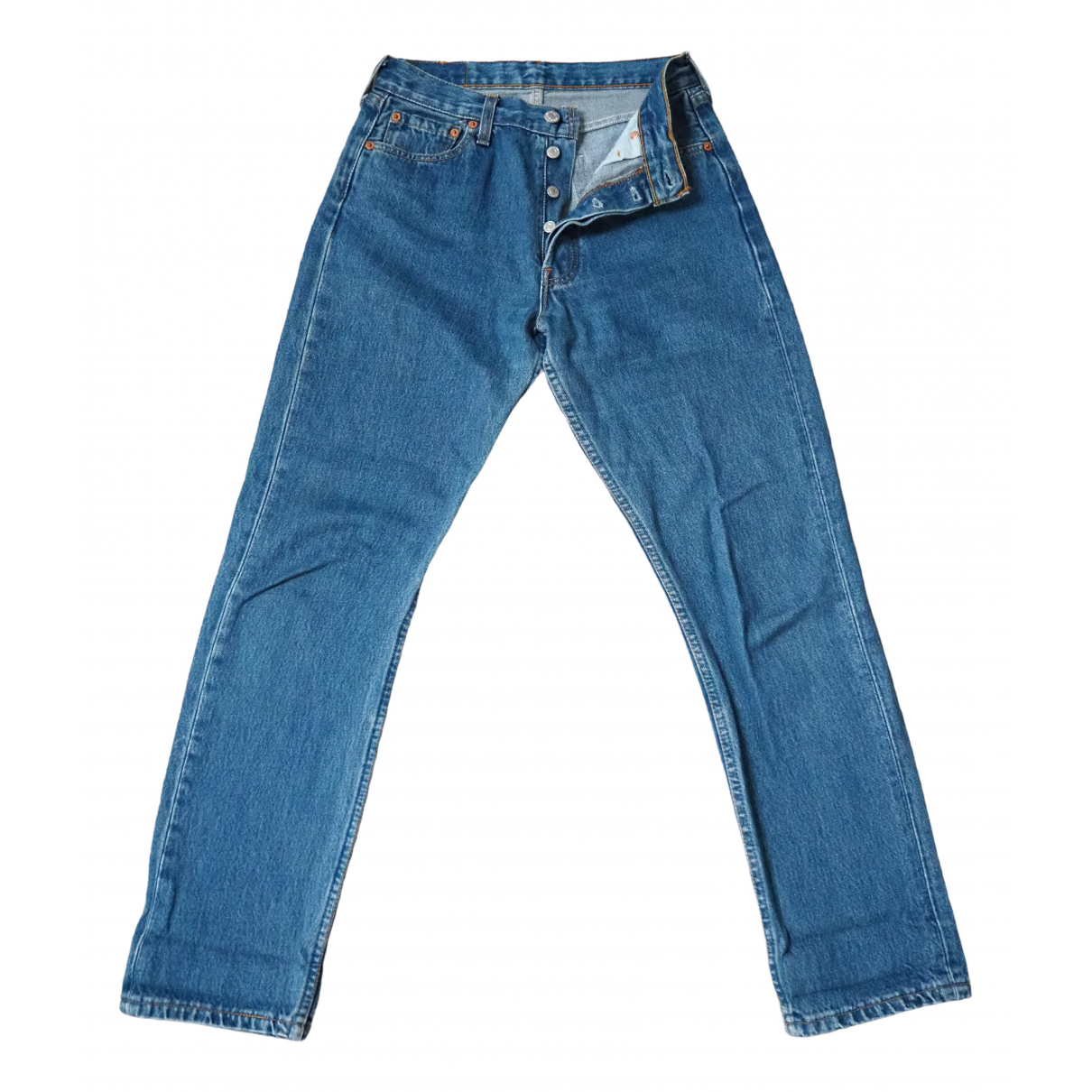 Levi's Vintage Clothing \N Blue Cotton Jeans for Women 36 FR
