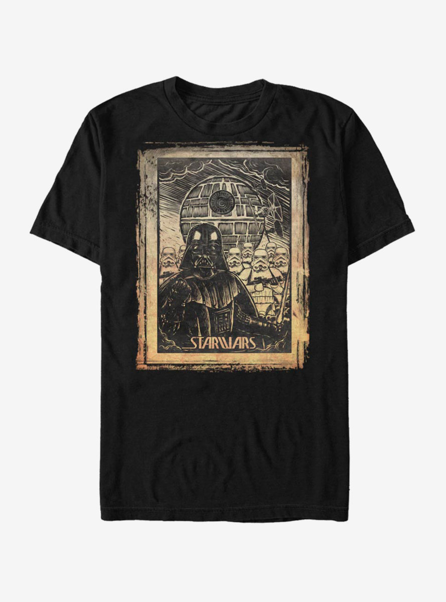 Star Wars Classic Art Print T-Shirt