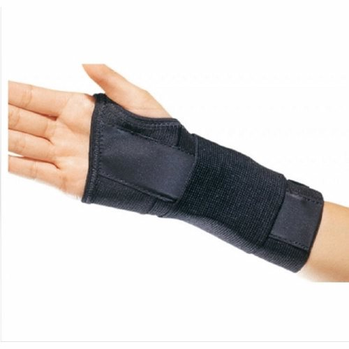 Wrist Support PROCARE CTS Contoured Cotton / Elastic Left Hand Black Large - Black 1 Each by DJO