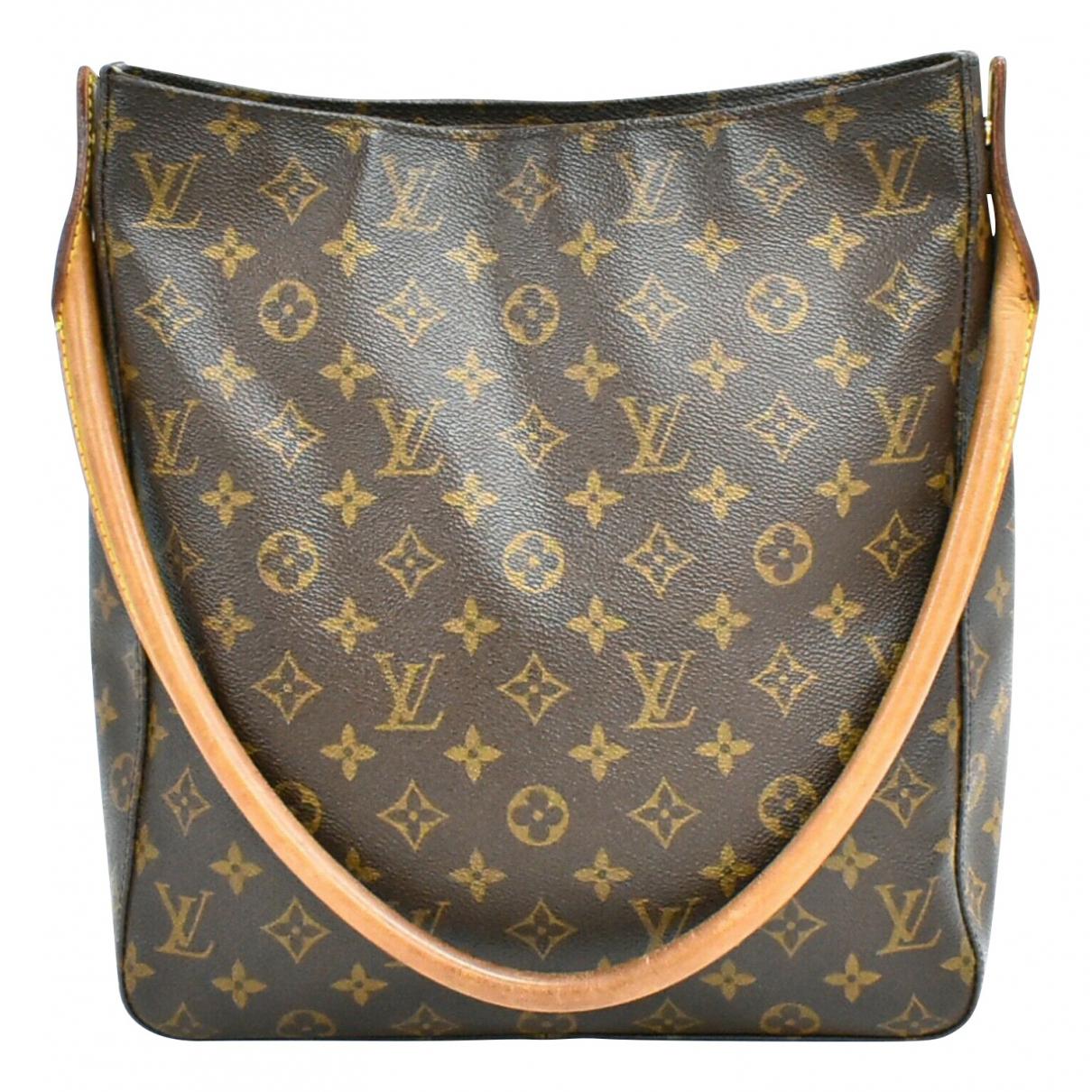 Louis Vuitton Looping Brown Cloth handbag for Women \N