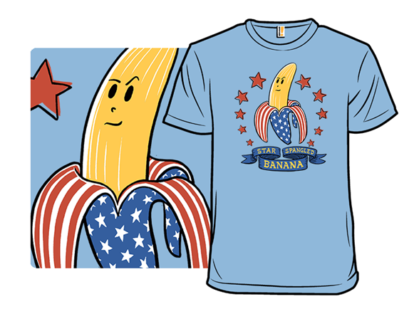 Star-spangled Banana T Shirt