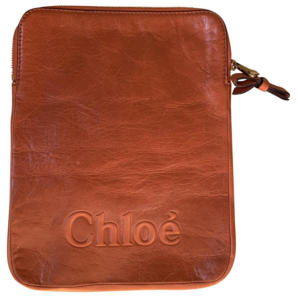 Chloe - Accessoires   pour lifestyle en cuir - rose