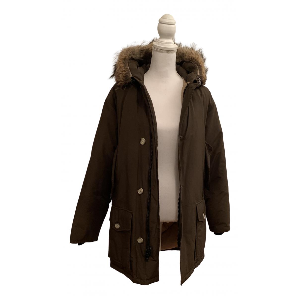 Woolrich N Khaki coat for Women XS International