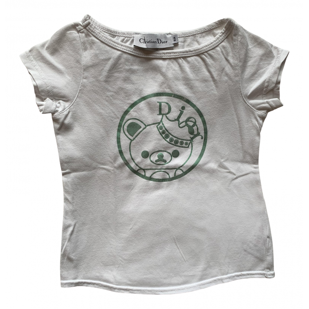 Dior \N White Cotton  top for Kids 6 years - up to 114cm FR
