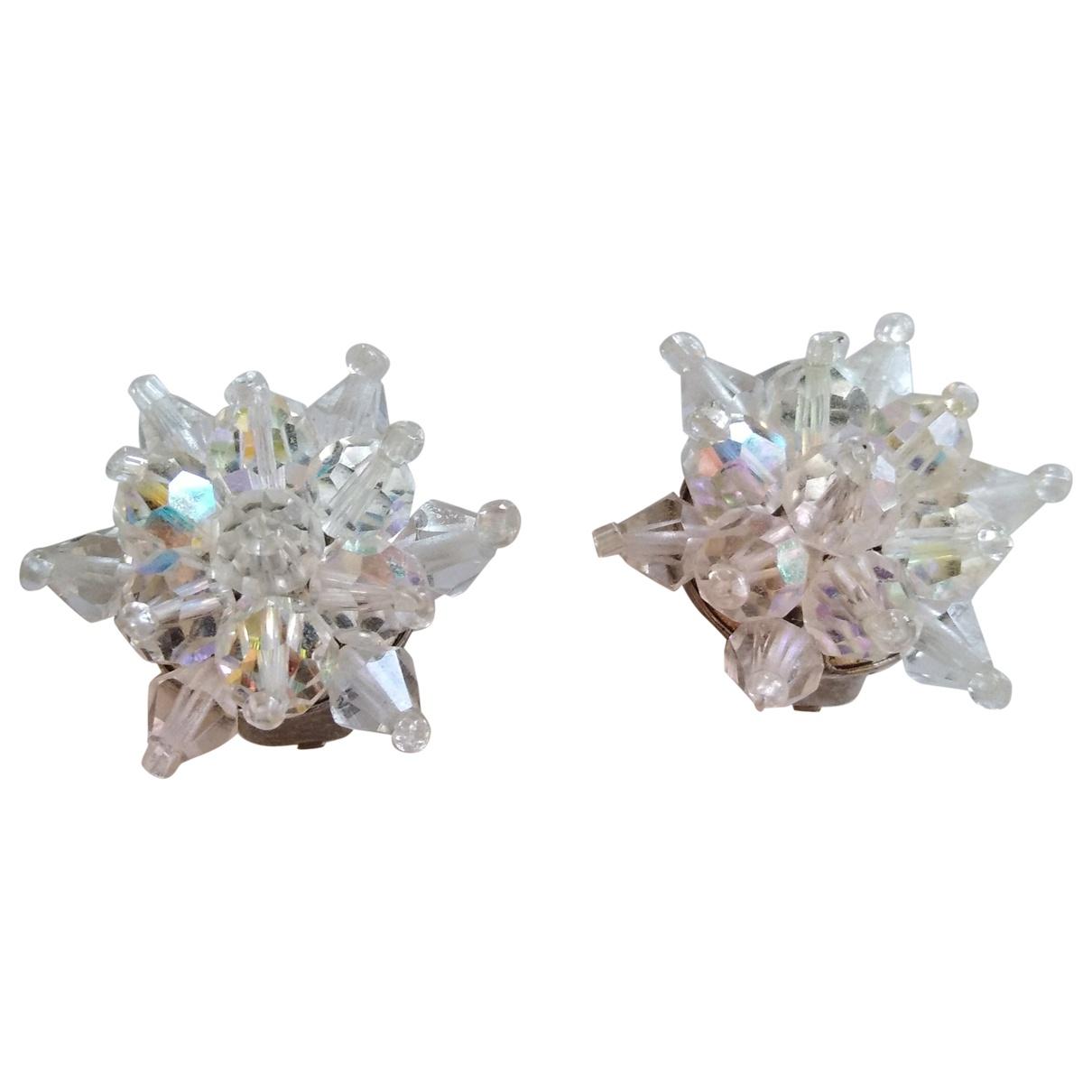 Non Signé / Unsigned Motifs Etoiles White Earrings for Women \N