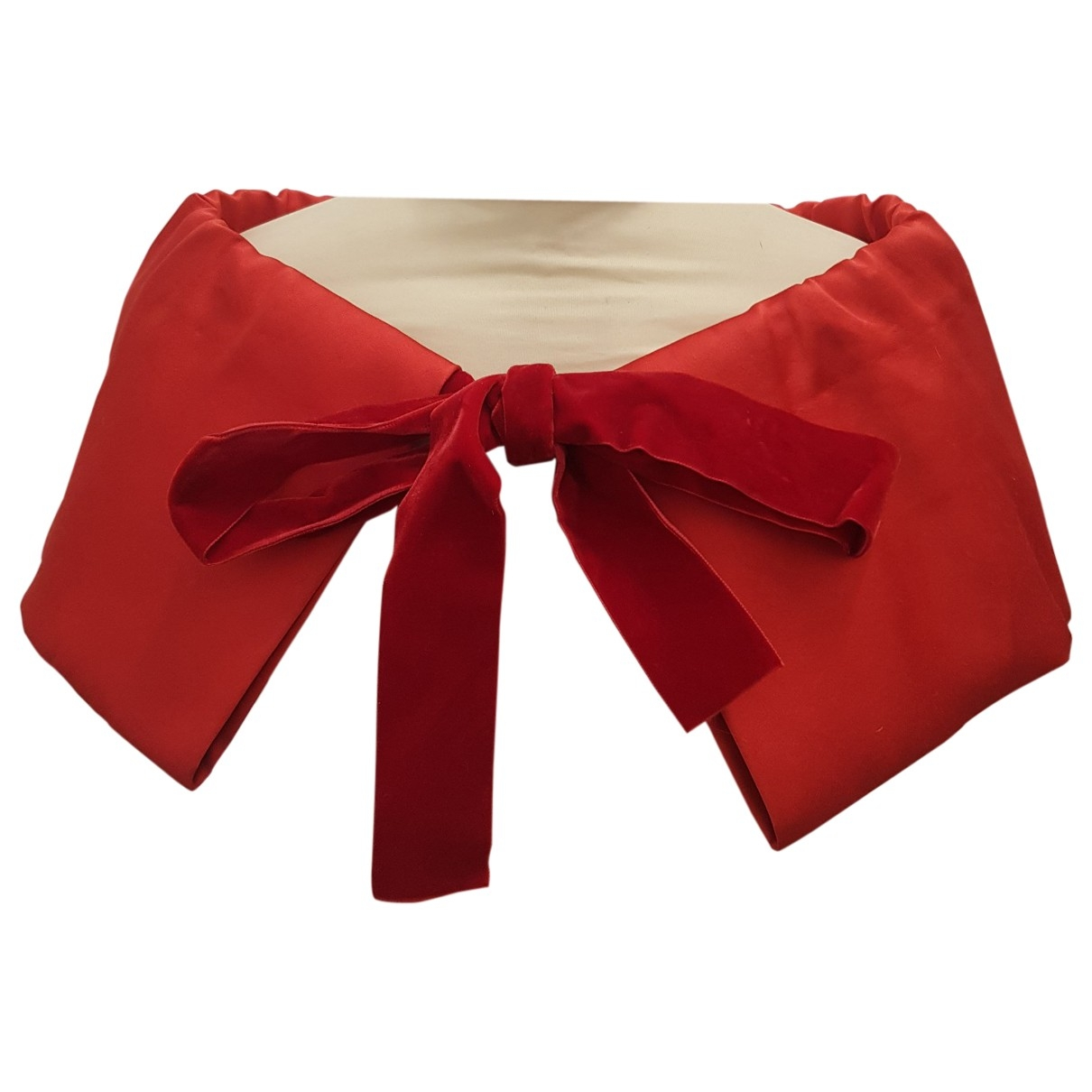 Miu Miu - Foulard   pour femme en coton - rouge