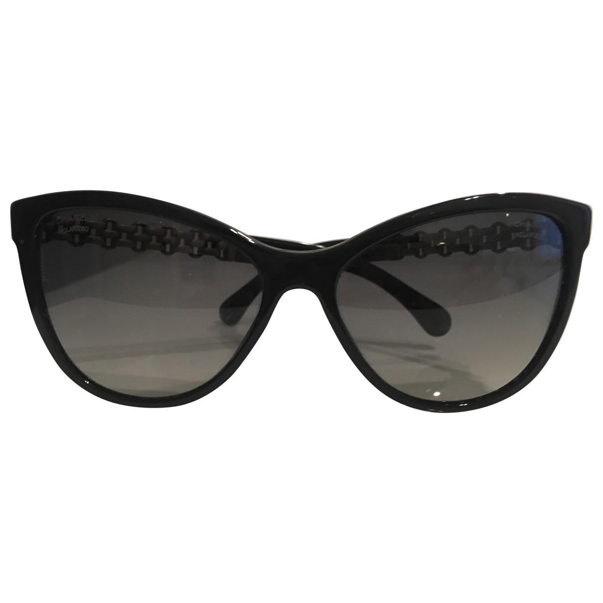 Chanel \N Sonnenbrillen in  Schwarz Metall