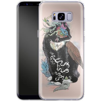 Samsung Galaxy S8 Plus Silikon Handyhuelle - Black Magic von Mat Miller