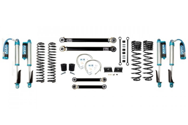 Jeep Gladiator JT 2.5 Inch Lift Kit 2020-Pres Gladiator Enforcer Lift Stage 3 w/ EVO SPEC 2.5 King Shocks EVO Mfg