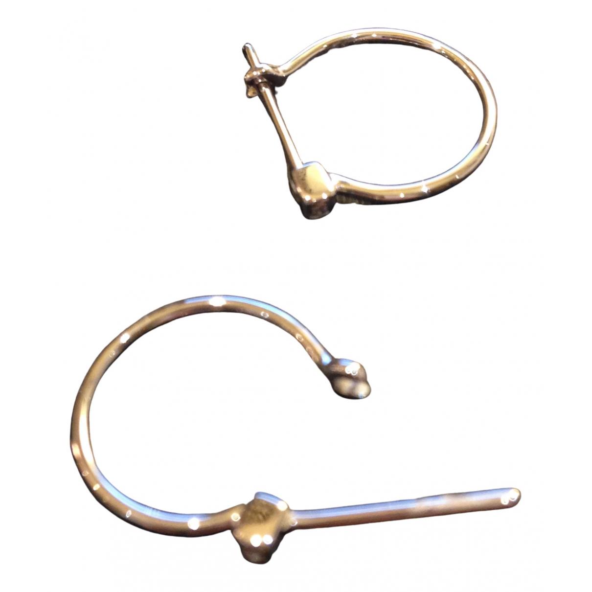 Ofée \N Silver White gold Earrings for Women \N