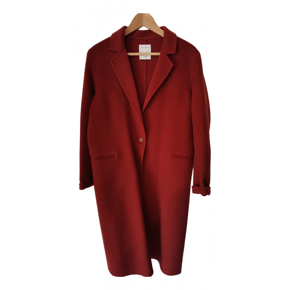 Sandro N Orange coat for Women 36 FR