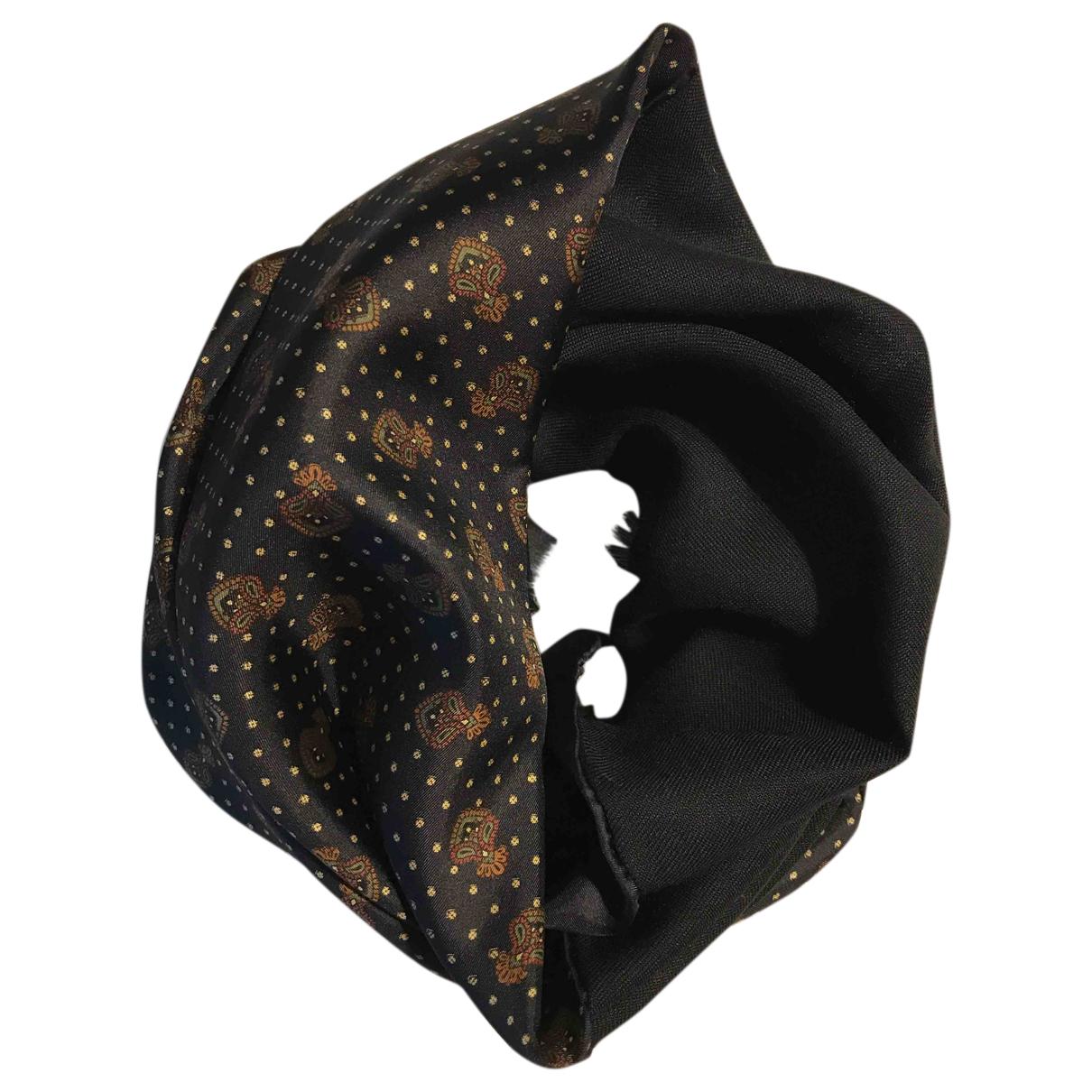 Zanellato N Black Silk scarf for Women N