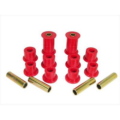 Prothane Motion Control Leaf Spring Eye and Shackle Bushing Kit (Red) - 1-1004