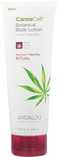 CannnCell Body Lotion Ritual 8 Oz by Andalou Naturals
