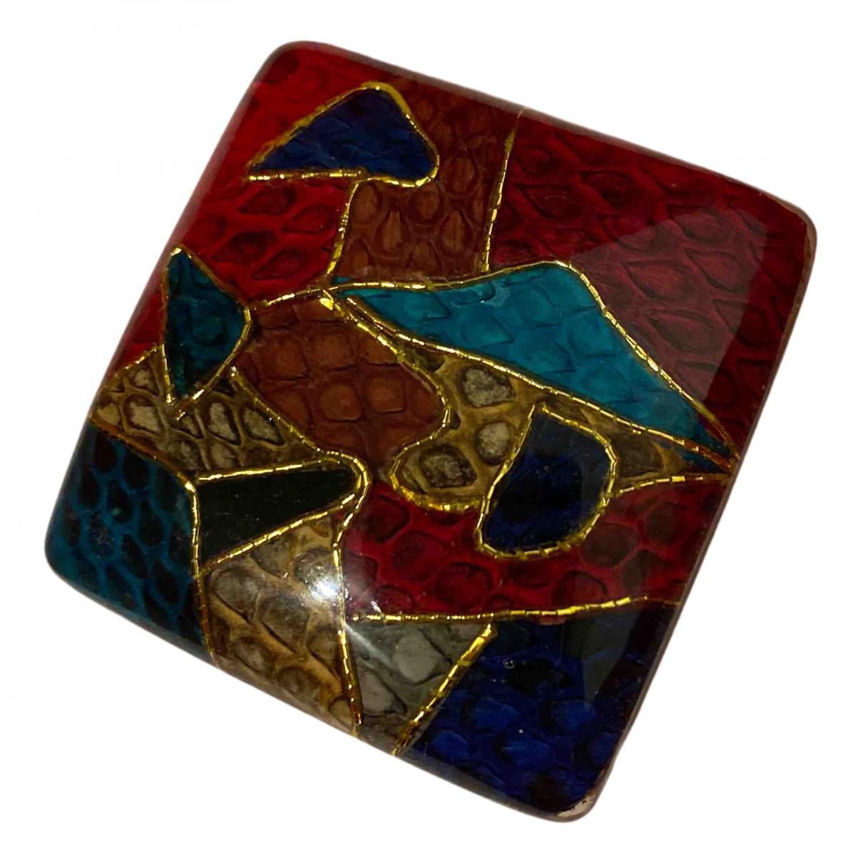 - Broche   pour femme en metal - multicolore