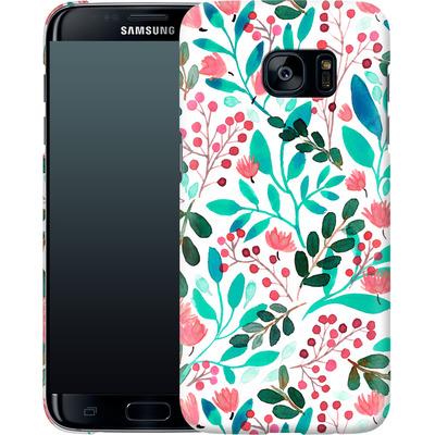 Samsung Galaxy S7 Edge Smartphone Huelle - Bright Foliage  von Iisa Monttinen
