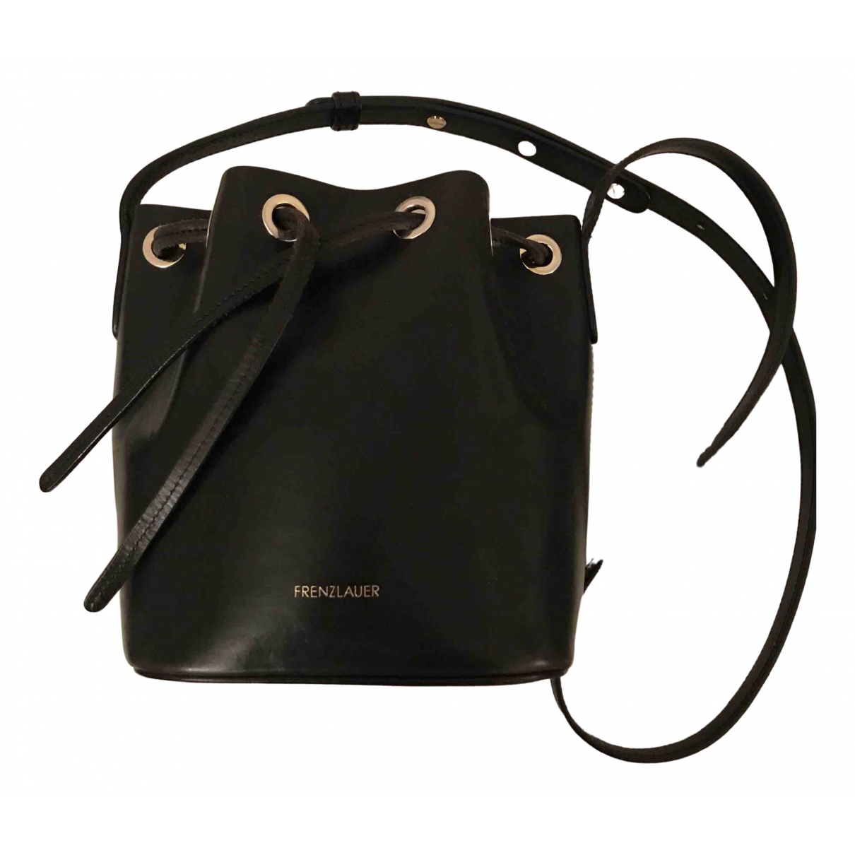 Frenzlauer \N Black Leather handbag for Women \N