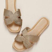 Sandalias Oro comodo