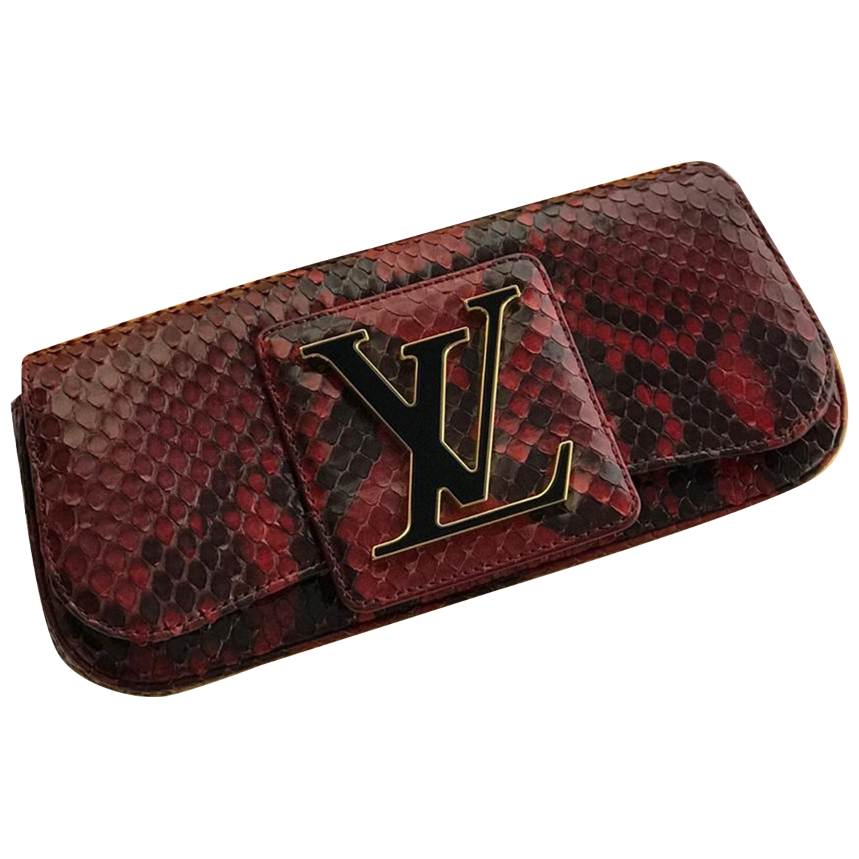 Louis Vuitton Sobe Red Python Clutch bag for Women \N