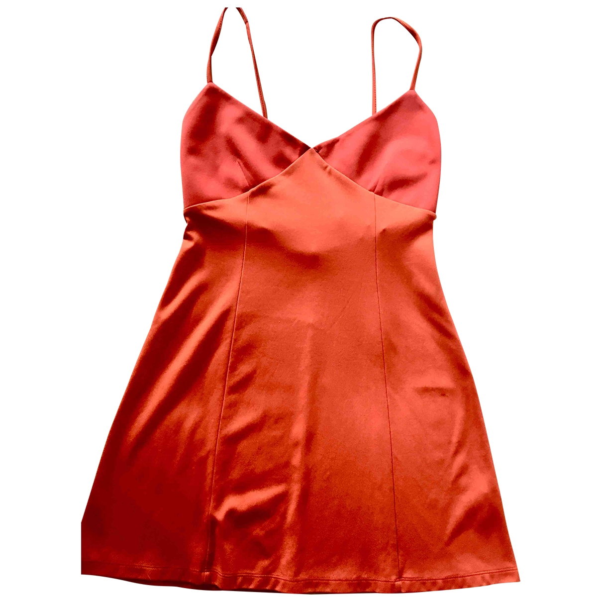 Iceberg \N Kleid in  Orange Synthetik