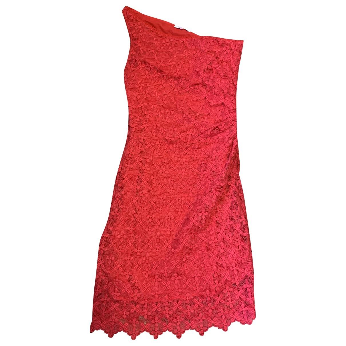Ba&sh \N Red Cotton dress for Women 32 FR