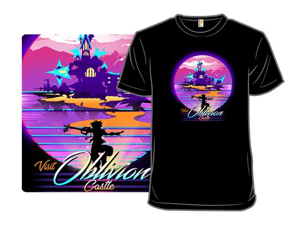 Visit Castle Oblivion T Shirt