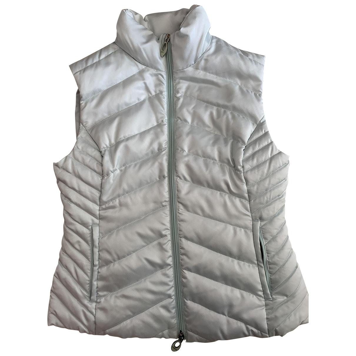 Emilio Pucci \N Blue Leather jacket for Women 38 FR