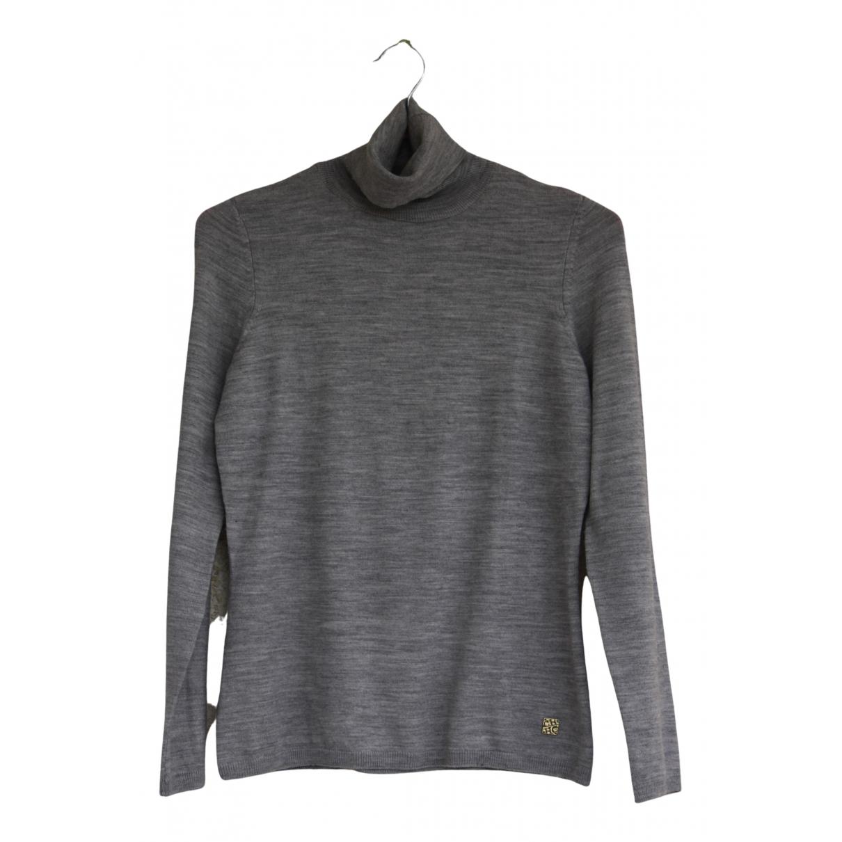 Carolina Herrera - Pull   pour femme en laine - gris