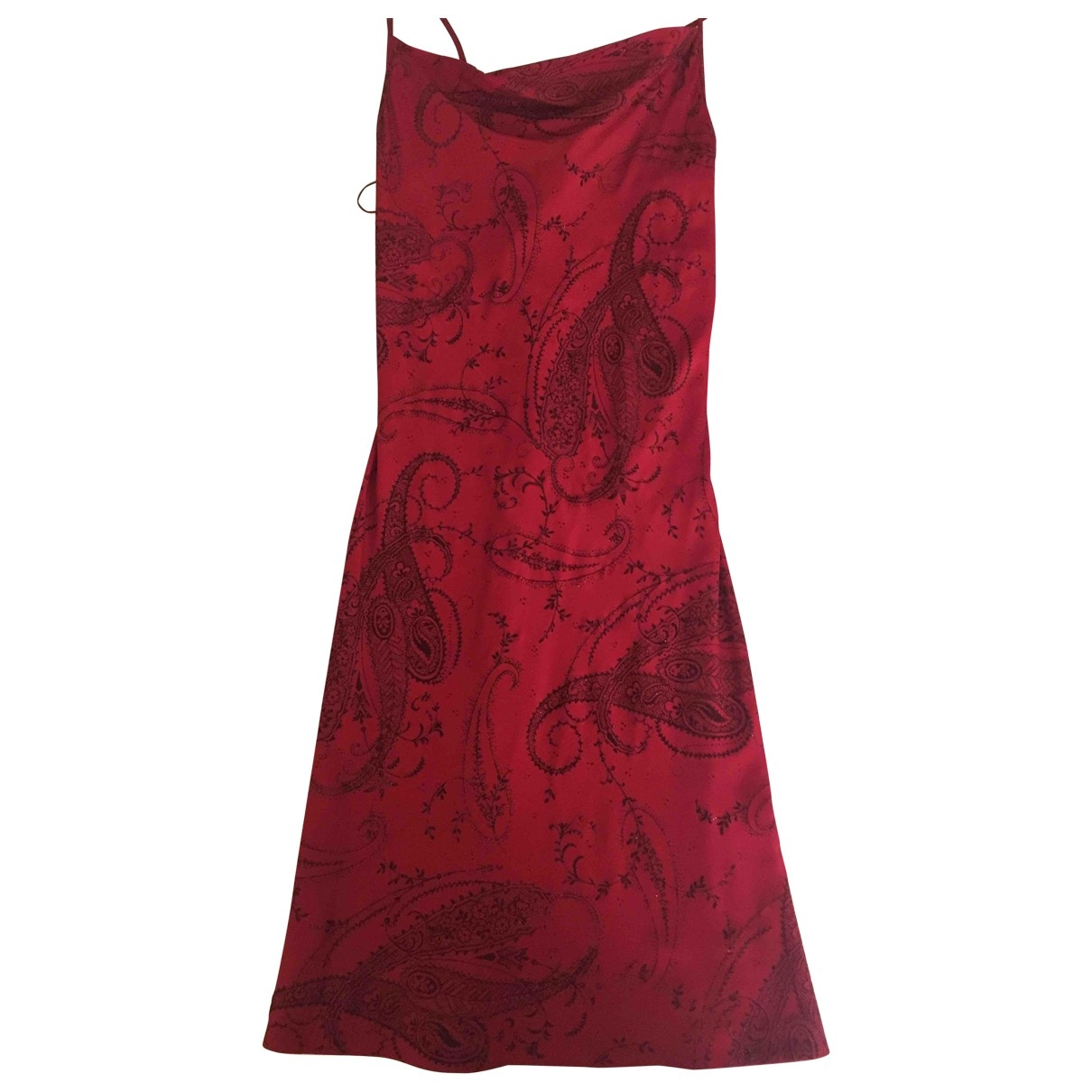 Non Signé / Unsigned \N Red dress for Women 40 IT