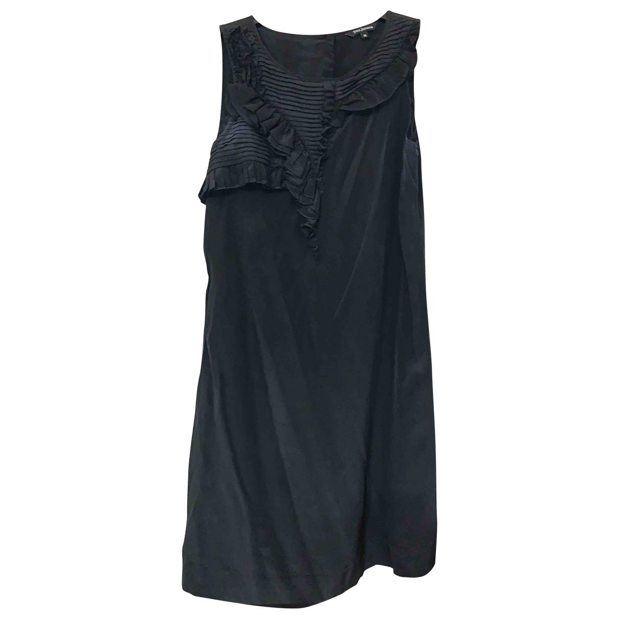 Tara Jarmon \N Black Silk dress for Women 38 FR