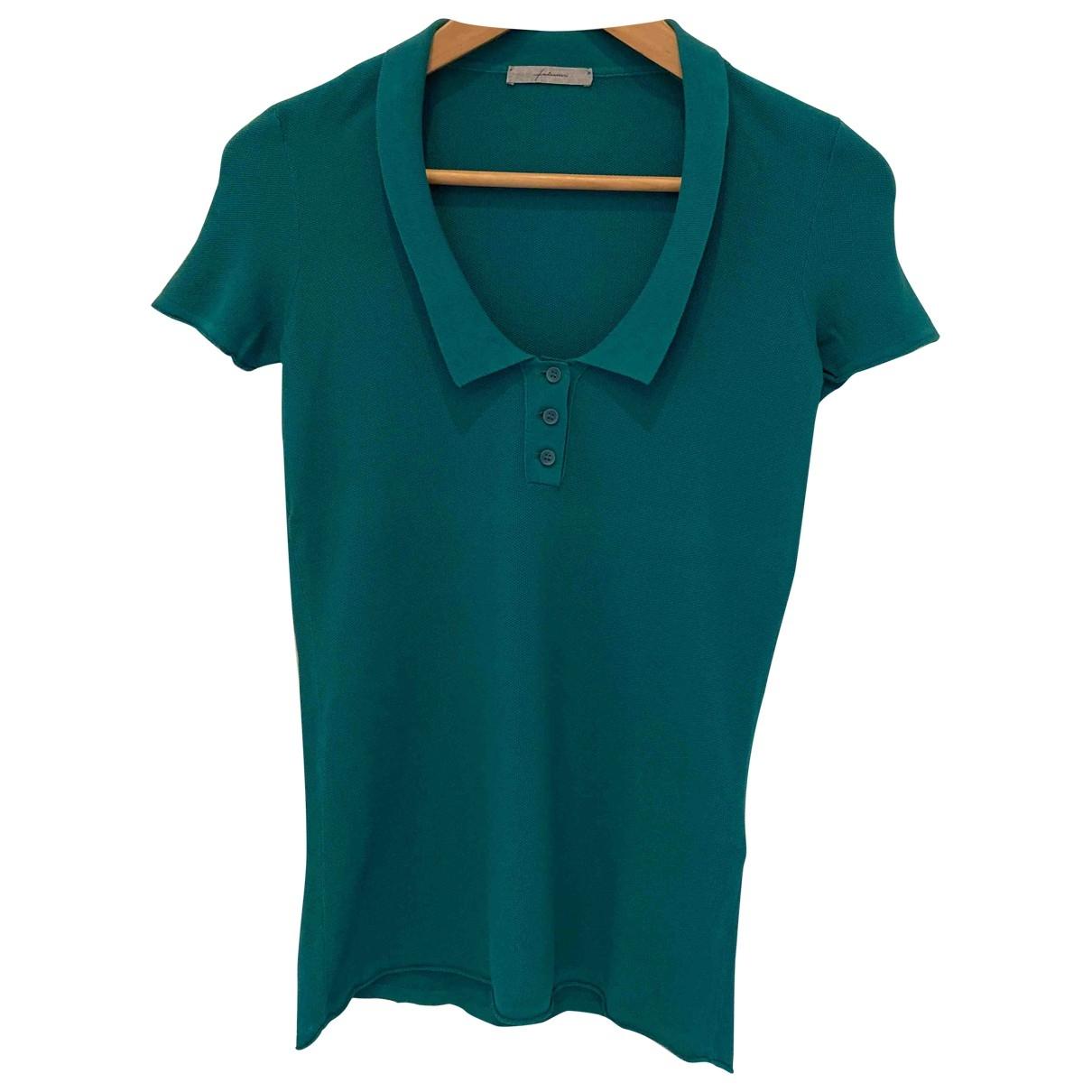 Falconeri - Top   pour femme en coton - vert
