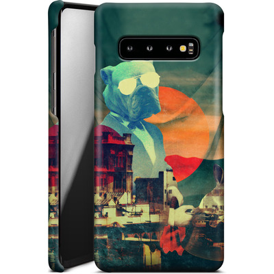 Samsung Galaxy S10 Smartphone Huelle - Abracadabra von Ali Gulec