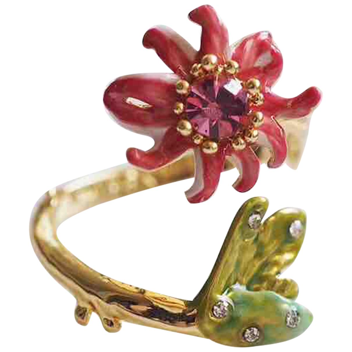 Les Néréides \N Multicolour Metal ring for Women 50 EU