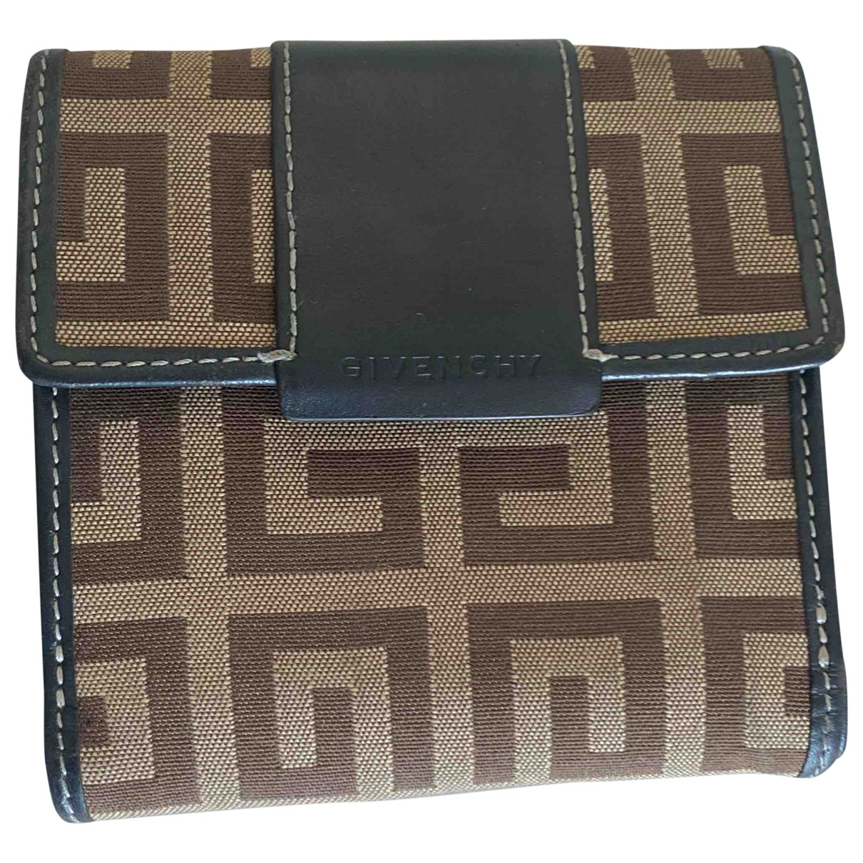 Givenchy \N Brown Cloth wallet for Women \N