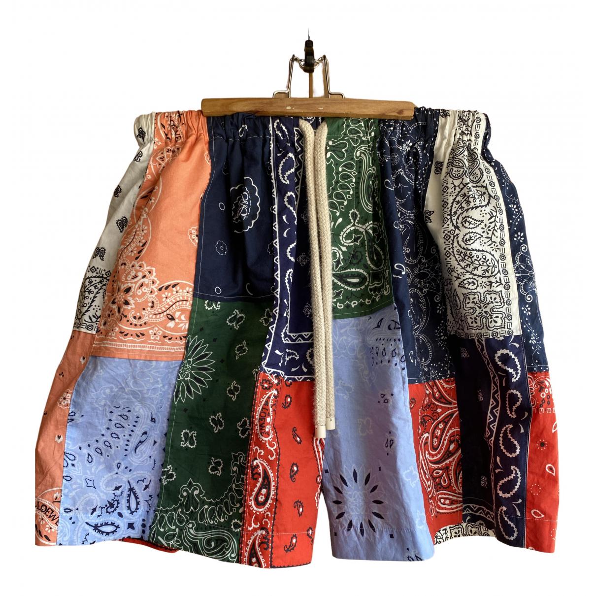 Loewe - Short   pour homme en coton - multicolore