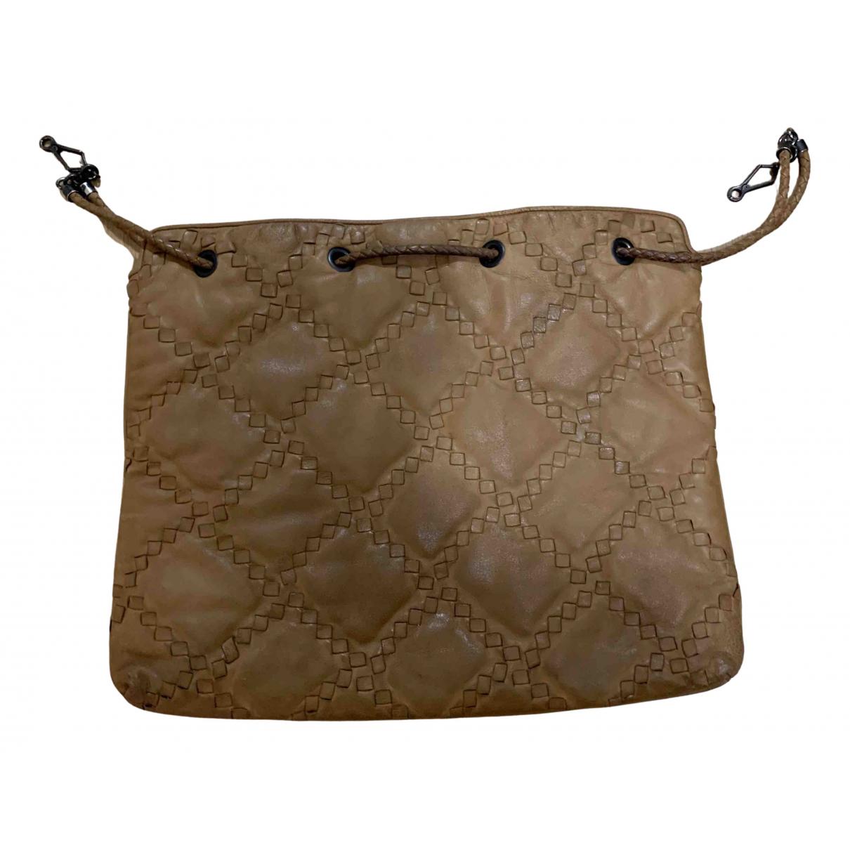 Bottega Veneta N Camel Leather handbag for Women N