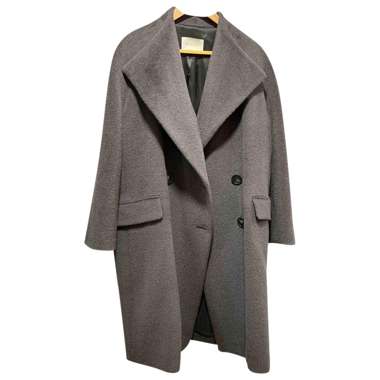 Massimo Dutti - Manteau   pour femme en laine
