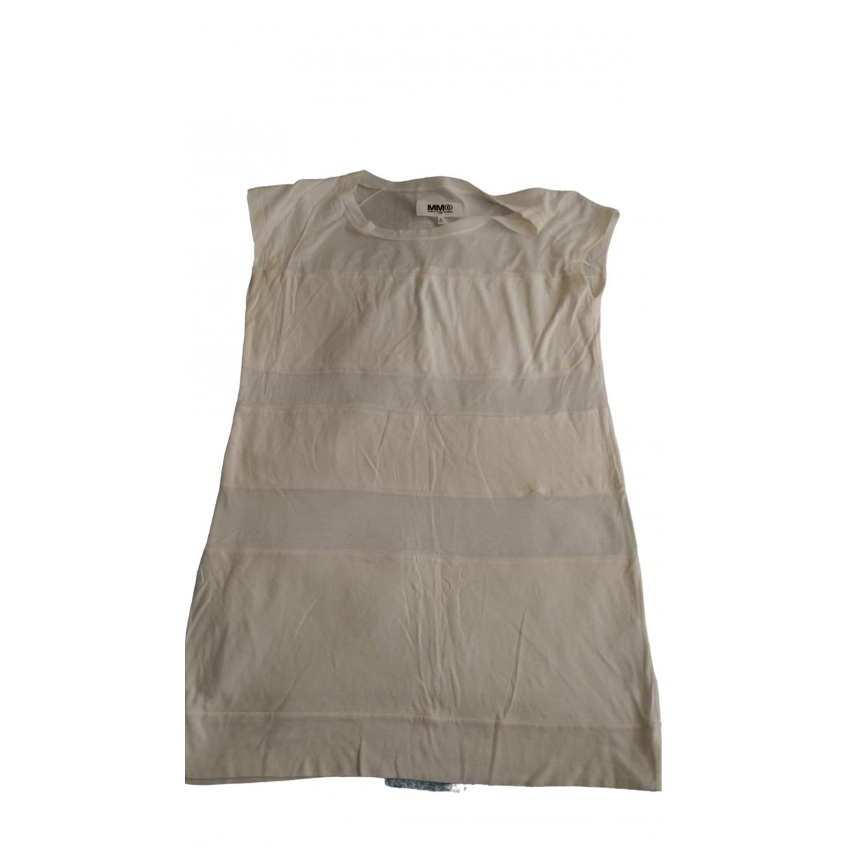 Mm6 \N Kleid in  Weiss Synthetik