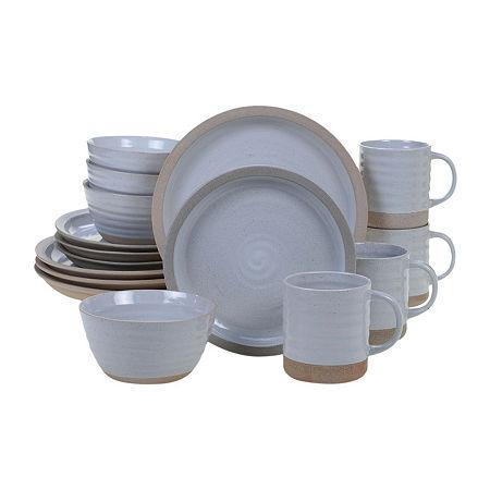 Certified International Artisan 16-pc. Dinnerware Set, One Size , Beige
